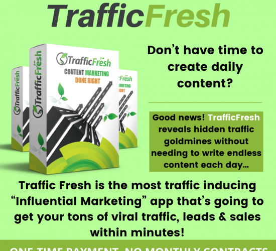 Traffic Fresh Pro